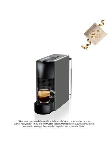 Nespresso Essenza Mini C 30 Kahve Makinesi Gri Gri